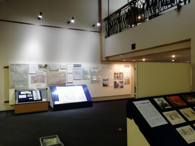 沼津の歴史コーナーの様子(1)