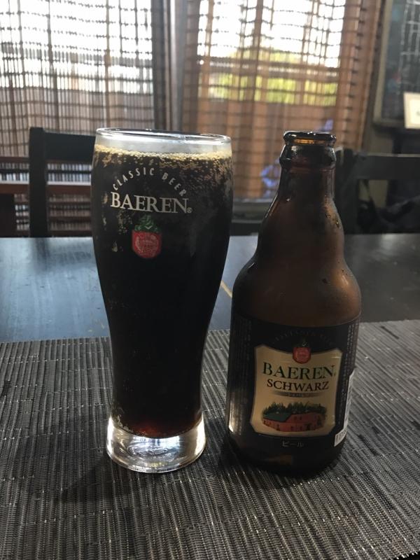 SCHWRZ(シュバルツ)黒ビール好きの私にはたまりません。黒ビールなのにスッキリ~~~、がんばっている私へご褒美ビールです。