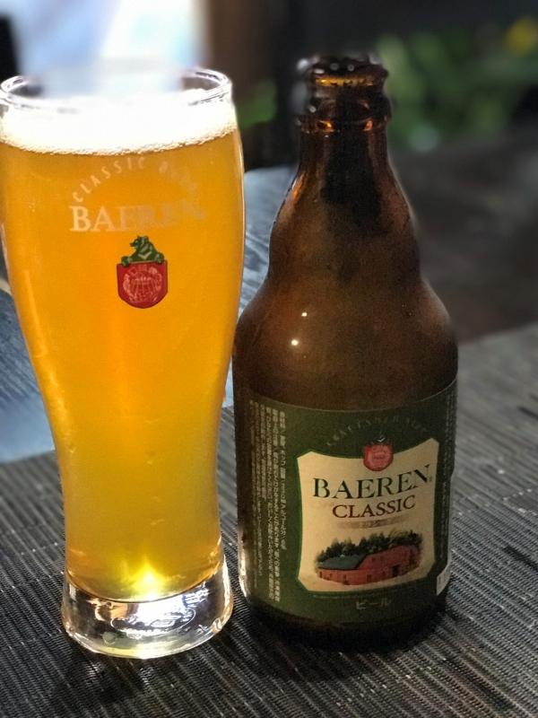 CLASSIC(クラシック)THE ドイツビール的なお味なのに、バランスよし!和食にぴったりです。ベアレンの看板ビールであり、不動の1番人気です。