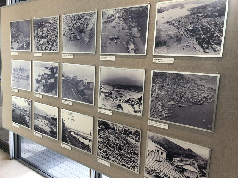 昭和35年の津波資料写真を見ることができるのがすごい