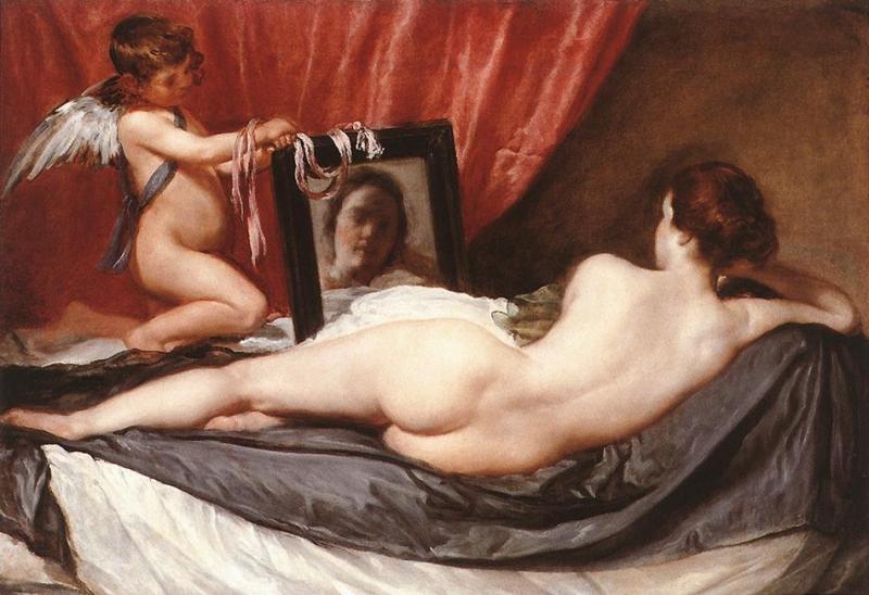 鏡の前のヴィーナス(ディエゴ・ベラスケス)1650年頃