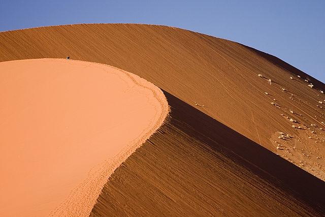 ソススフレイにある巨大砂丘