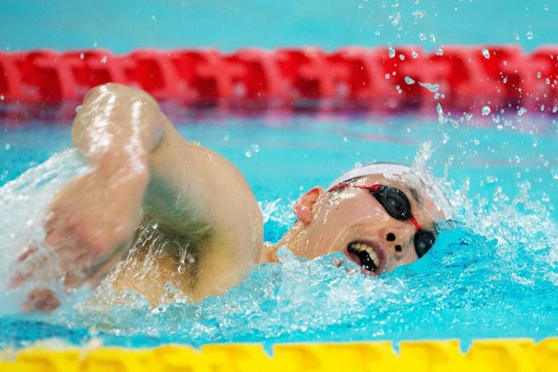 小6で初めてパラリンピック金メダルを見て憧れ、13歳で世界最高峰の舞台を踏んだ。(C)NTTドコモ