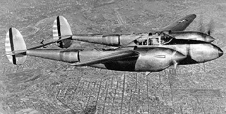 「XP-38A」(ウィキメディア・コモンズより)