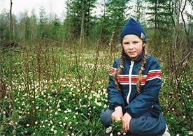 ロシアでは1年生は給食を食べた後お昼寝タイムがあった。(8歳の頃)