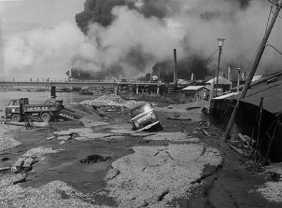 気象台付近から八千代橋方向を望む 新潟県の地震(津波)災害 | 新潟地方気象台