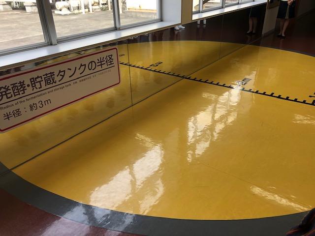 発酵・貯蔵タンクの大きさは直径6m