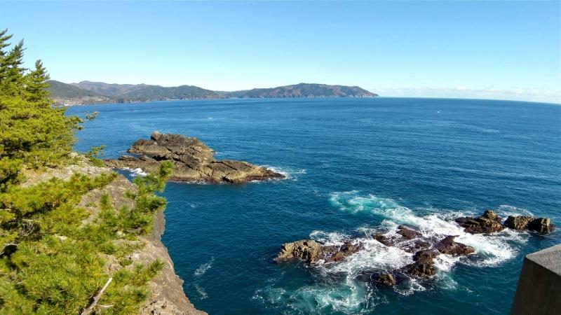 今回の旅で見つけたお気に入りの場所(碁石海岸)