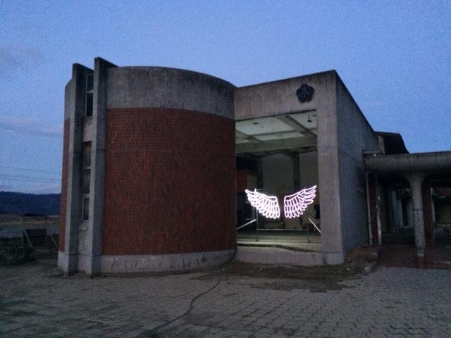 大川小学校(2016年1月)