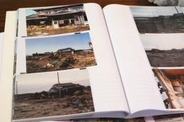 川里さんのご両親に見せてもらった震災直後の実家の写真