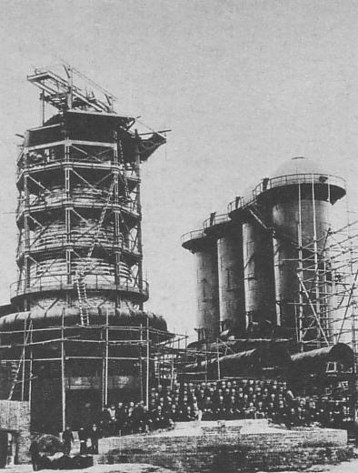 官営八幡製鉄所 1900年(毎日新聞社「一億人の昭和史14」より)