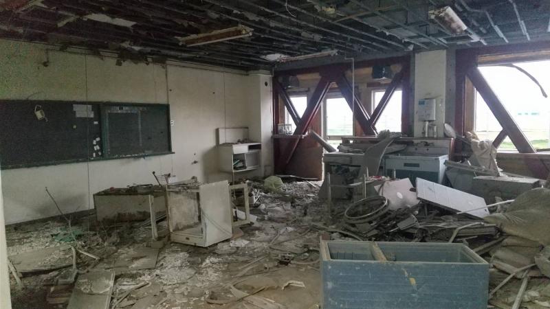 南校舎1階の保健室