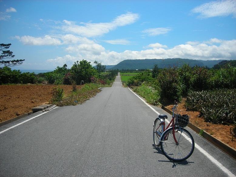 西表島と自転車