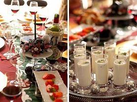 2011クリスマスのレシピ。美しいテーブルコーディネートも伝授。