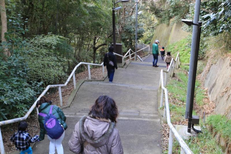 命の階段(日和山)