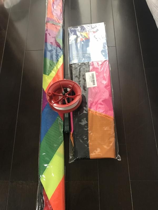 微風で揚がる凧 カラフルな凧 虹カイト 軽量でタフ 凧揚げ 子供と大人のおもちゃ
