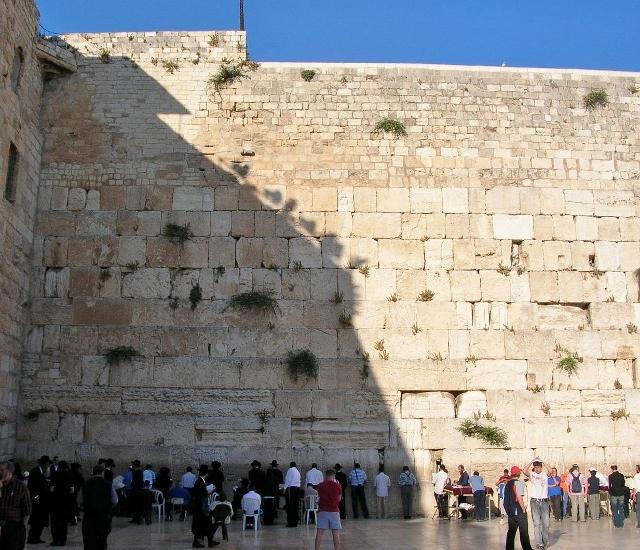 ユダヤ教の聖地・嘆きの壁