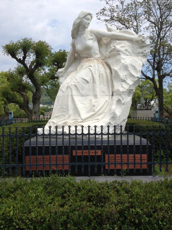 乙女の像(中華人民共和国寄贈)