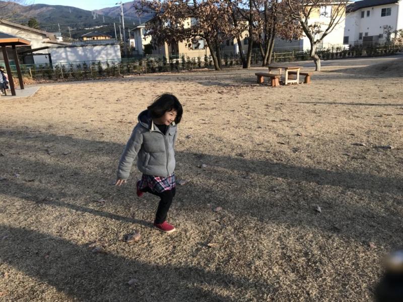こちらは神山自然公園。笑ってますね。かーわいい♪