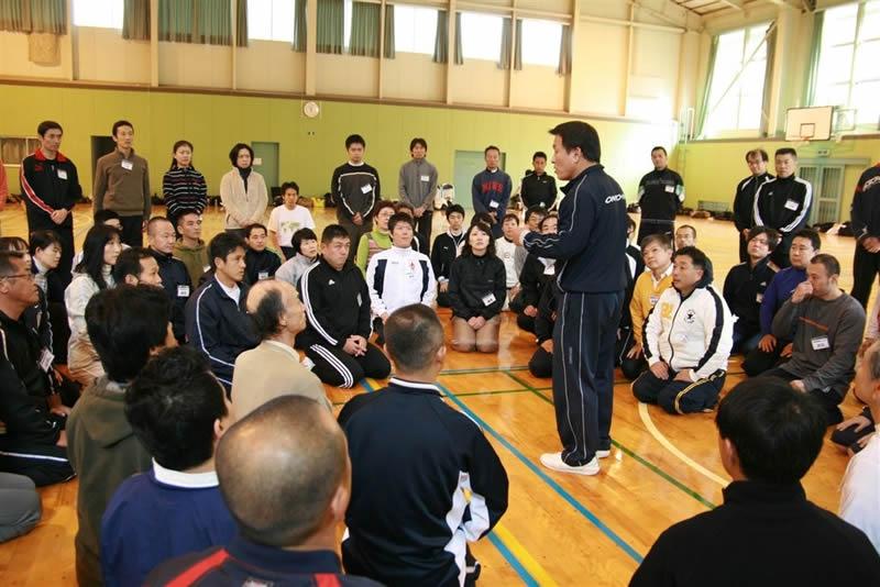 宇城道塾の講義は検証によって体で理解。言葉ではなく感知の世界。