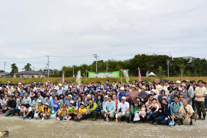 イベントには500名以上のボランティアの方々が駆けつけました。