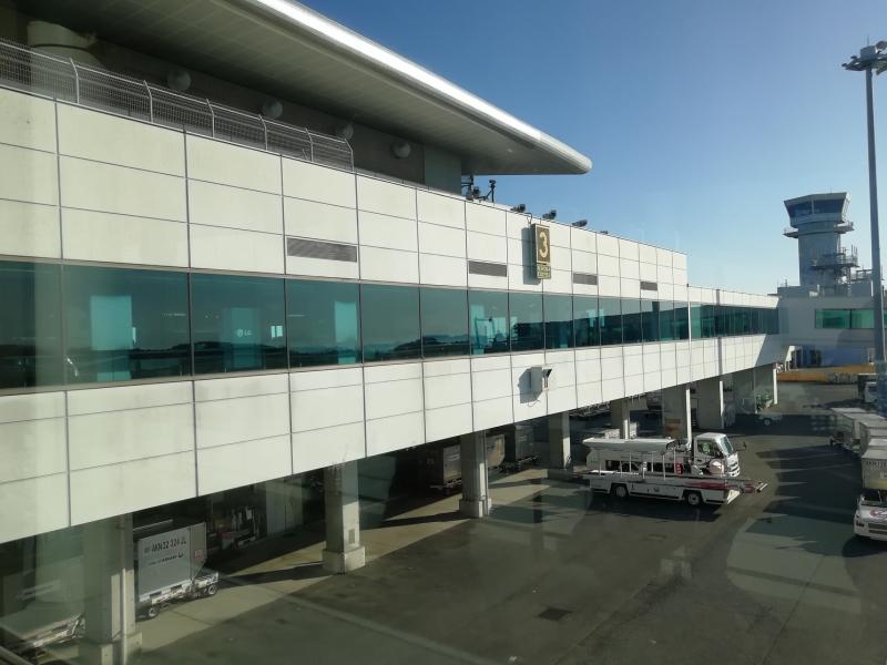 広島空港に到着!