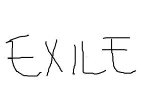 むかしフジテレビ「とくダネ!」でEXILEの話題だった時、画面にはカタカナで「モメルモ」と出ていたことがあります。本当の話です。なんでそんなことに、と思ってこんなふうに紙に何度もEXLIEと書いたら有力な説が浮んできました。ディレクターの手書き指示をテロップ係の人が読み間違えたんだと思います。