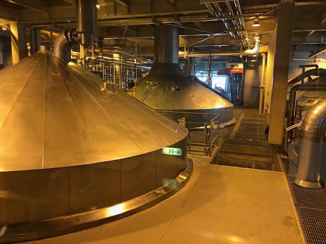 ここで麦汁が作られます