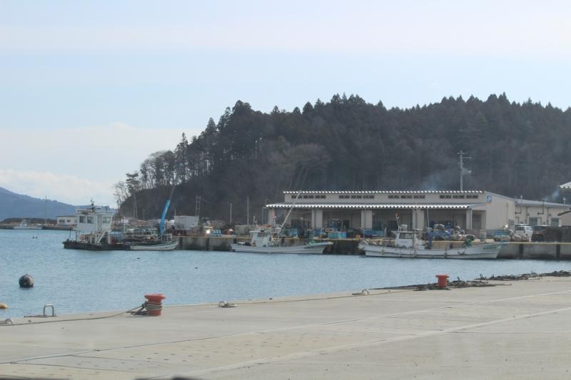 かつては釣り人でにぎわっていた漁港