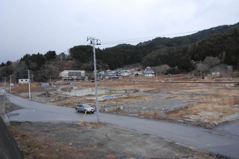 大槌町赤浜地区 2013年12月30日