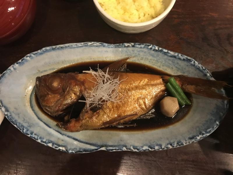 息子がたいそう気に入った金目鯛の煮付。あれ以来何が食べたいか聞くと「キンメの煮付!」と言うようになってしまいました。いやいや、年に一回だから。