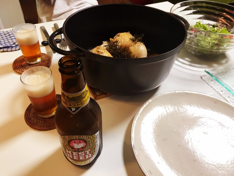 茨城の地ビールも頂きもの