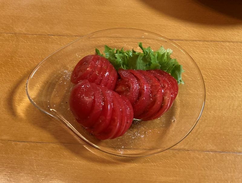 トマトかぶり…