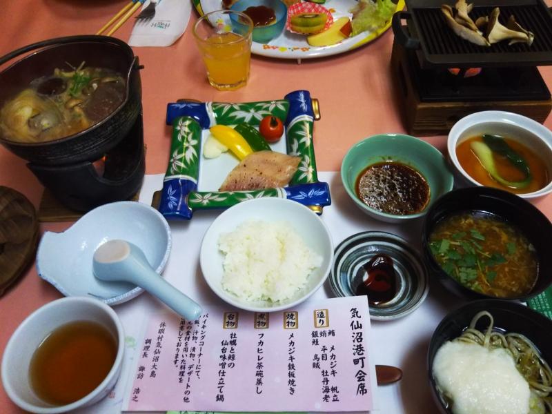 夕食は施設内のレストランでいただきました。豪快にフカヒレを使った茶碗蒸しが最高に美味しかったです!
