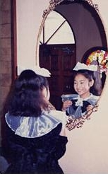 初めてのピアノ発表会は小学4年生。「鏡よ鏡、世界で一番かわいいのはだぁれ?」