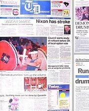 3日に1回くらいアメリカのどこかの新聞に二人の記事が載った。