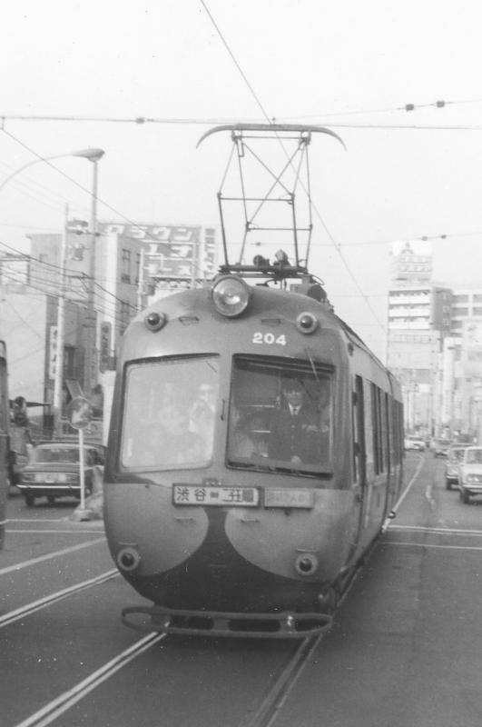 営業当時のデハ200形204号(1969年5月)