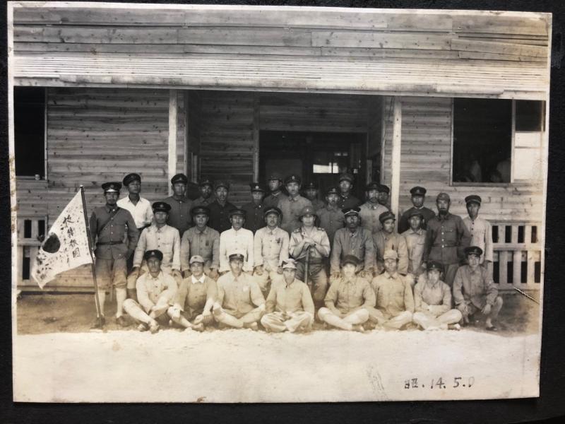 おそらく三菱重工業下関造船所ではないか。右下が祖父・25歳(昭和14年5月撮影)
