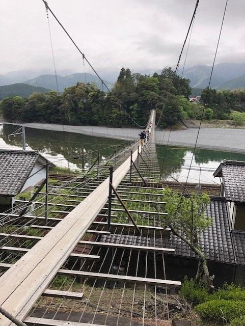 塩郷吊り橋