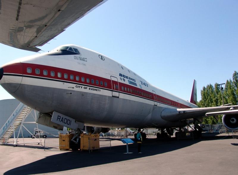 B-747生産初号機「City of Everett」
