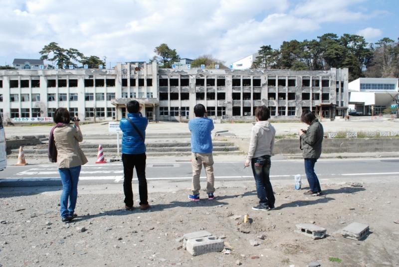 門脇小学校。ここも解体されるそうです