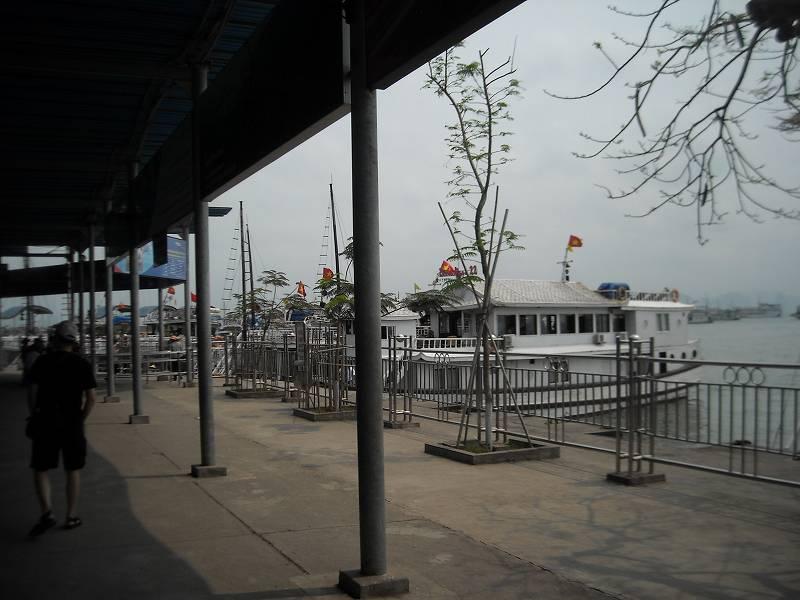 バイチャイの港