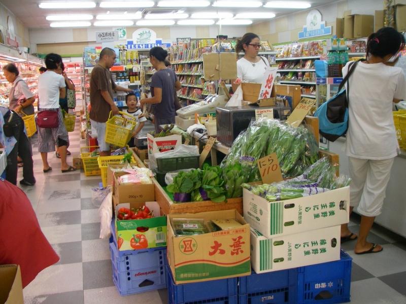 入港日混み始め。必要なものは早いうちに買っておくべし!