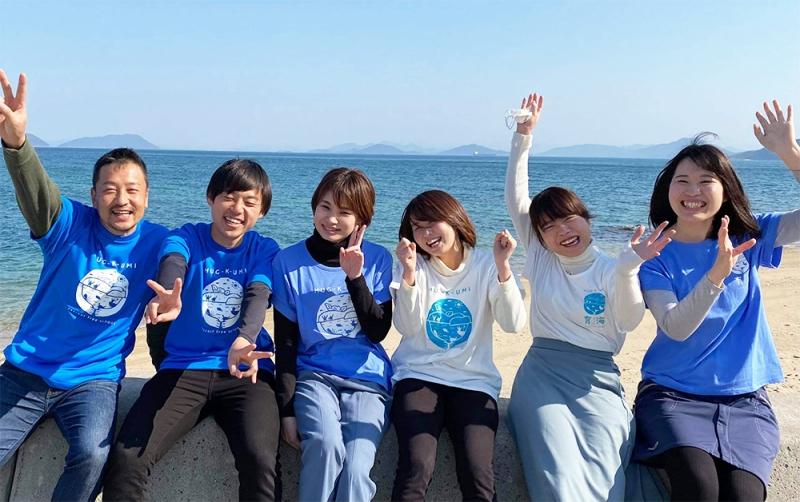 小学生から高校生までの子どもたちが育海に参加している。
