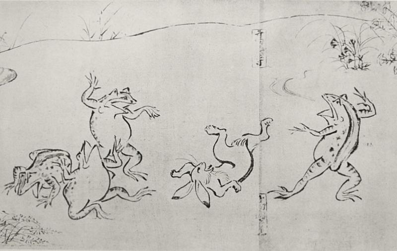 「鳥獣人物戯画」が伝わる高山寺も世界遺産。ただし鳥獣戯画は東博・京博に寄託されている