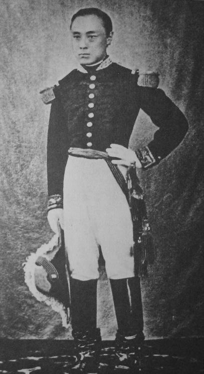 ナポレオン3世から贈られた軍服姿の慶喜