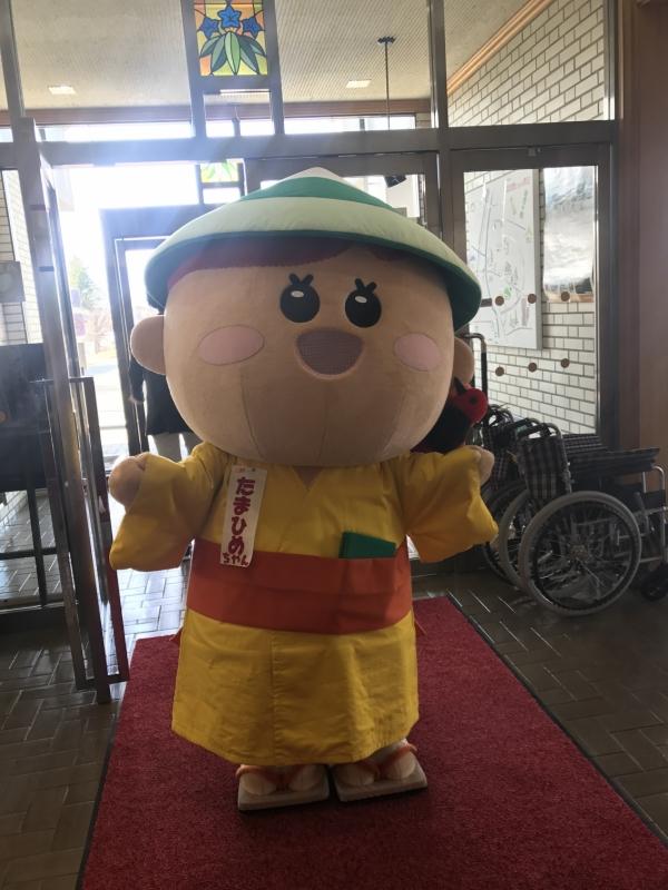 盛岡市玉山区のゆるキャラ「たま姫ちゃん」