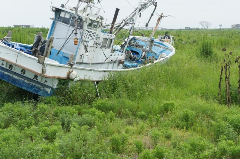 同じような漁船が所々に点在している。