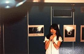 当時町田にあったプラネタリウムでアルバイトをしていた大学生の頃。