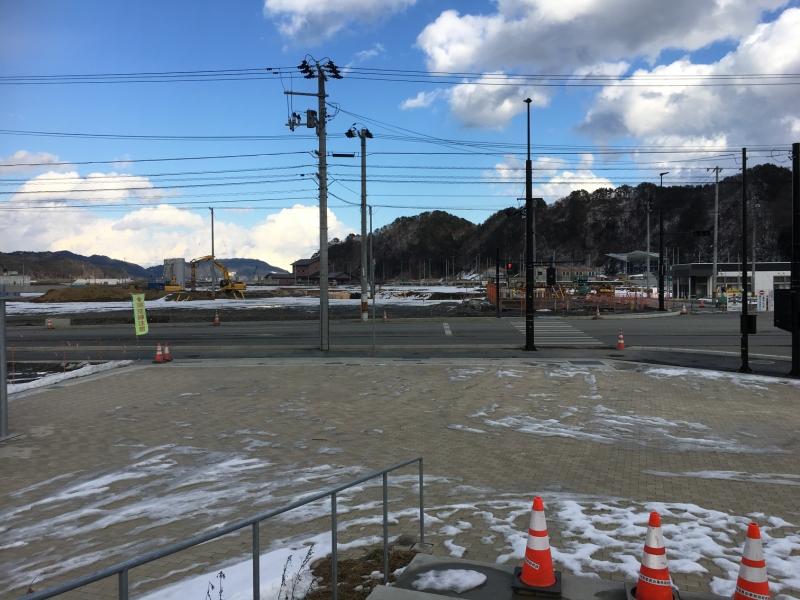 今は取り壊されて更地となった防災センター跡